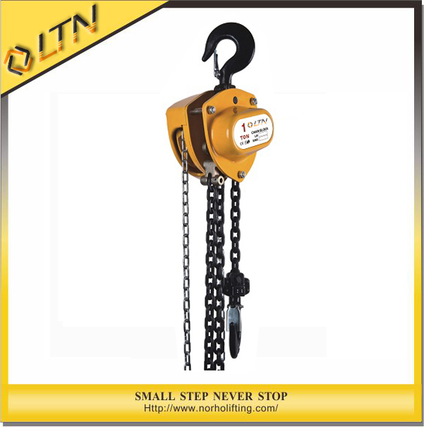 High Quality&Best Price Manual Chain Hoist 0.5-10 Ton (CH-WD)