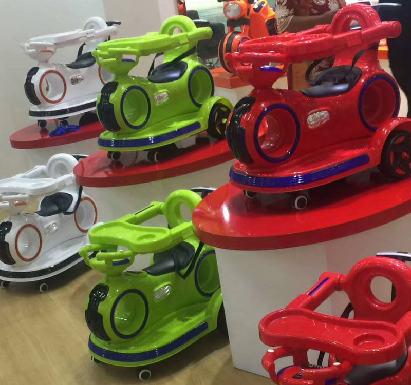 Electric Baby Toy Car with Swing and Music