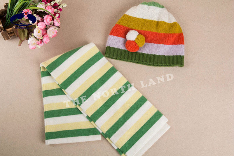 Cashmere Children's Hat and Scarf