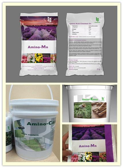 Organic Nutrition Amino Acid Chelated Mn Fertilizer