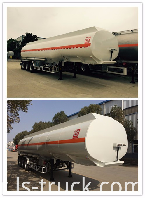 3 axles Good Quality Oil Tank Fuel Tank Semi-Trailer