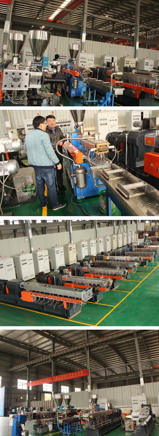 The Twin Screw Extruder of ABS PP