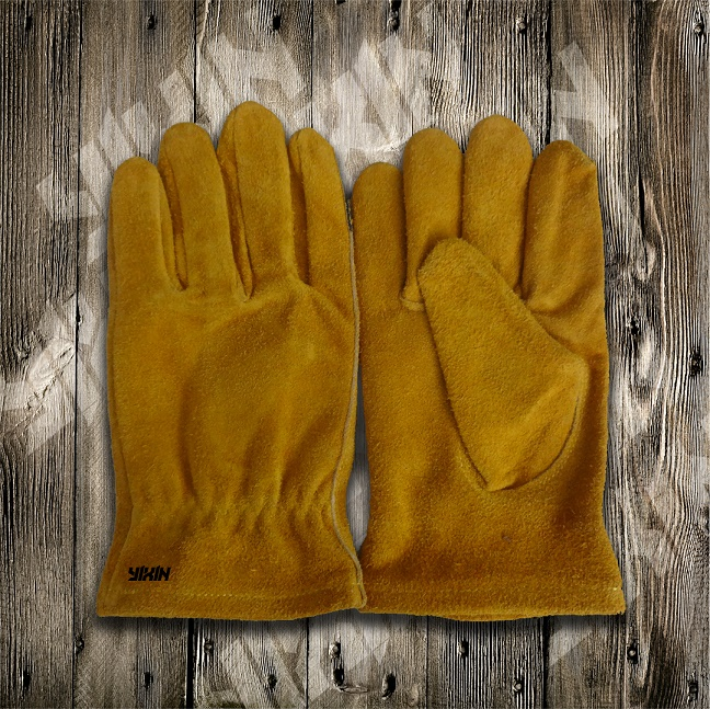 Cow Split Leather Glove-Working Glove-Safety Glove-Leather Glove-Children Glove