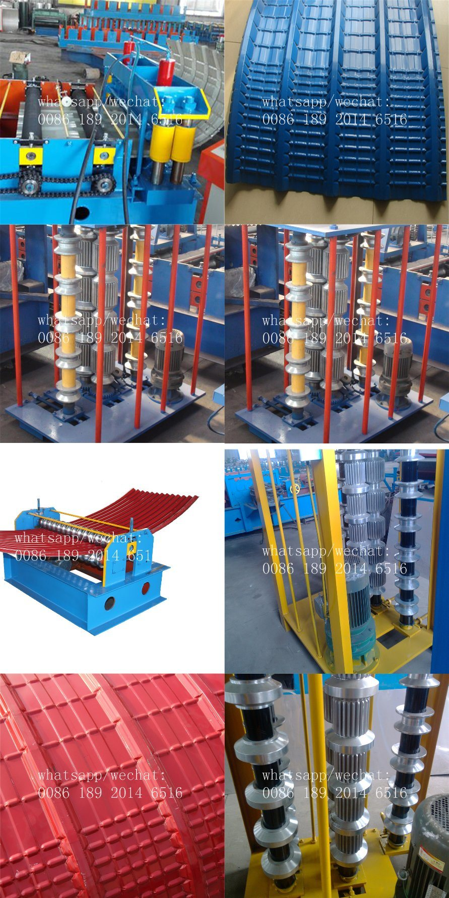 High Quality Hydraulic Roofing Sheet Crimping Machineoofing Curve Machine