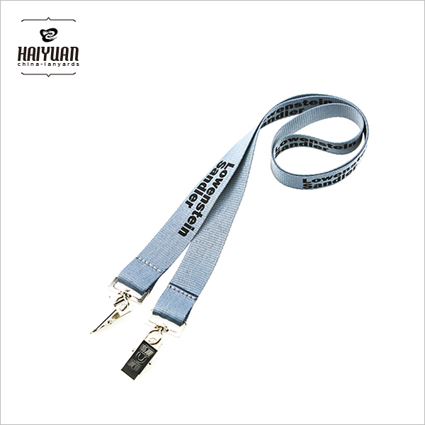 Customzied Lanyards with 2 Hooks Logo Lanyards Custom Eco Friendly Screen Printed Cheap Custom Lanyards