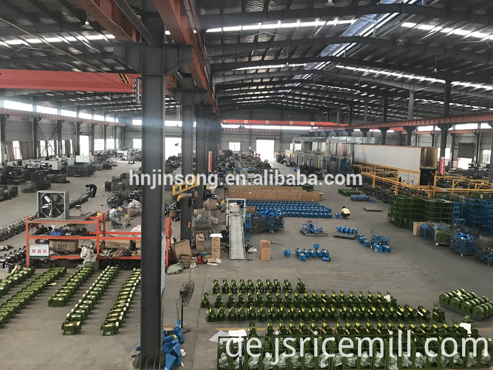 Rice Production Machine factory