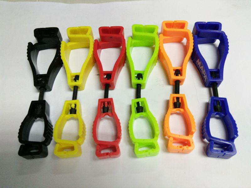 Popular Fluorescence Color Work Glove Clips