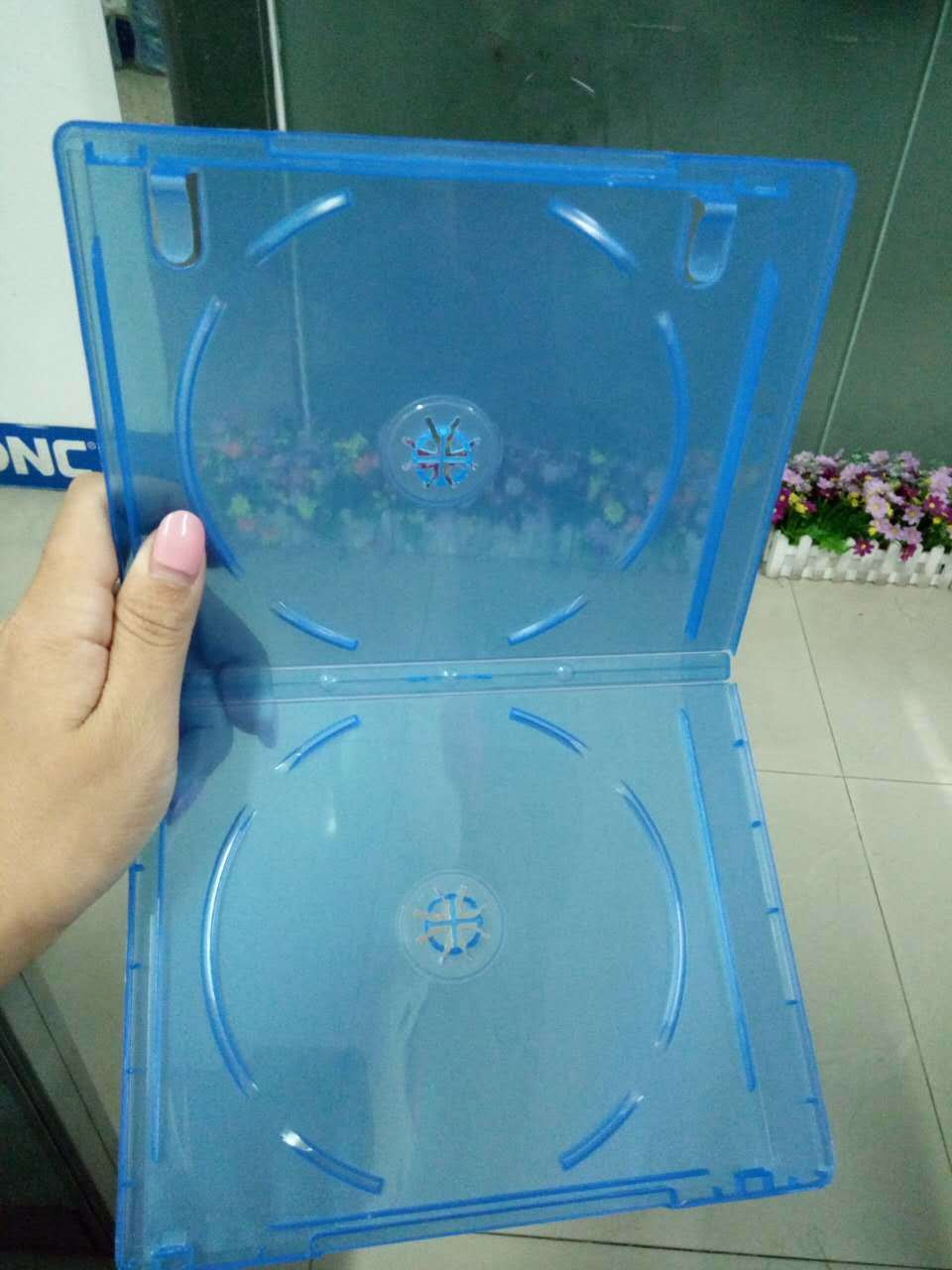 Eco-Friendly Strong Plastic CD DVD Case 7mm 9mm 14mm
