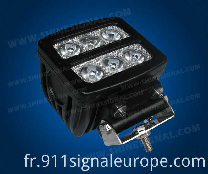 Military Vehicle LED Work Lamp (WBL25 60W)