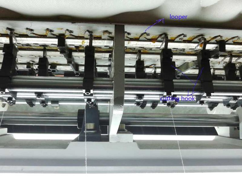 Yuxing Industrial Chain Stitch Quilting Machine Multi Needle for Mattress Cover