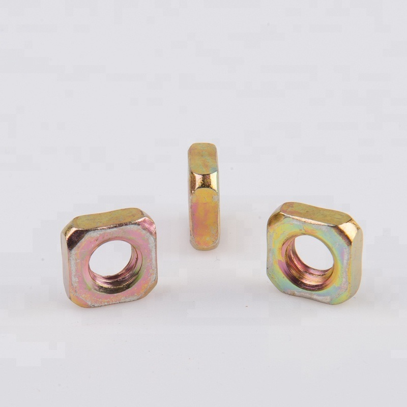 Good Quality Bolts M4 Heavy Carbon Steel Square Nut