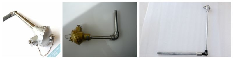 Thermocouple with Right Angle Elbow