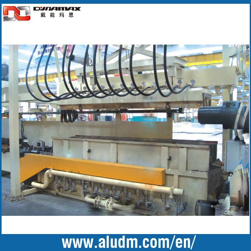8m Aluminum Profile Online Quenching Cooling System