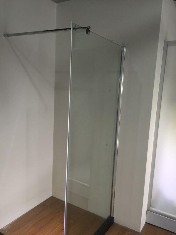 1PCS Glass Bath Screen (ADL-8A00)
