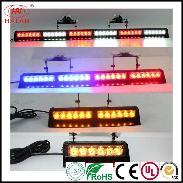 Visor Light Emergency LED Warning Strobe Split Mount Deck Dash LED Lightbar Traffic Light