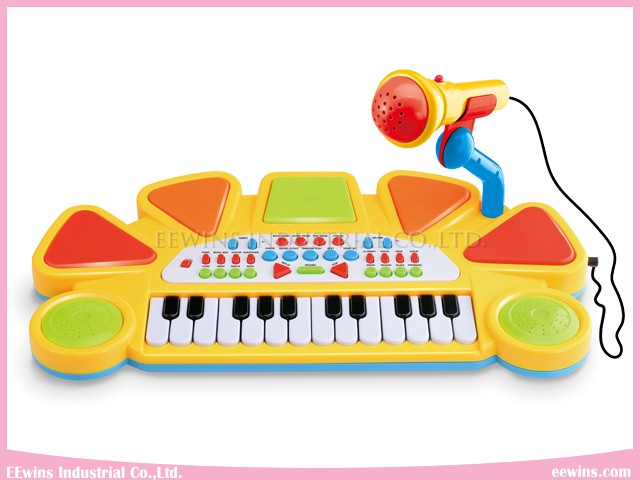 Musical Toys Electronic Organ with Microphone
