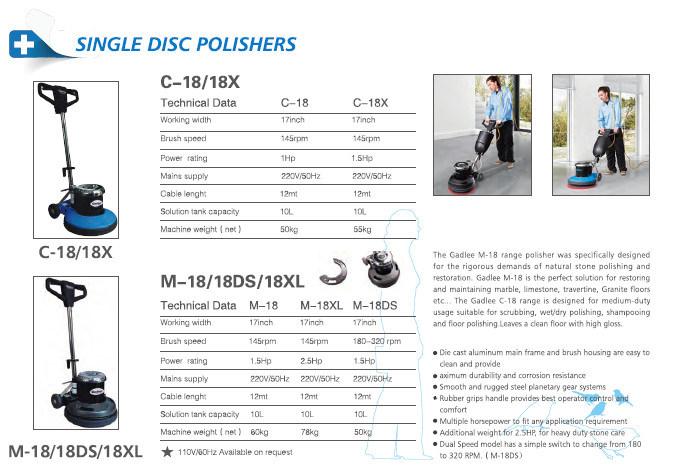Commercial Crystal Stone Machine Heavy Polisher
