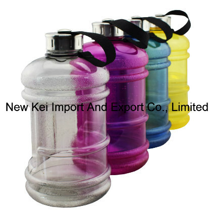 Drinking Container Jug - 2.2 Liter Resin Bottle for Outdoor Sport Leisure Fitness