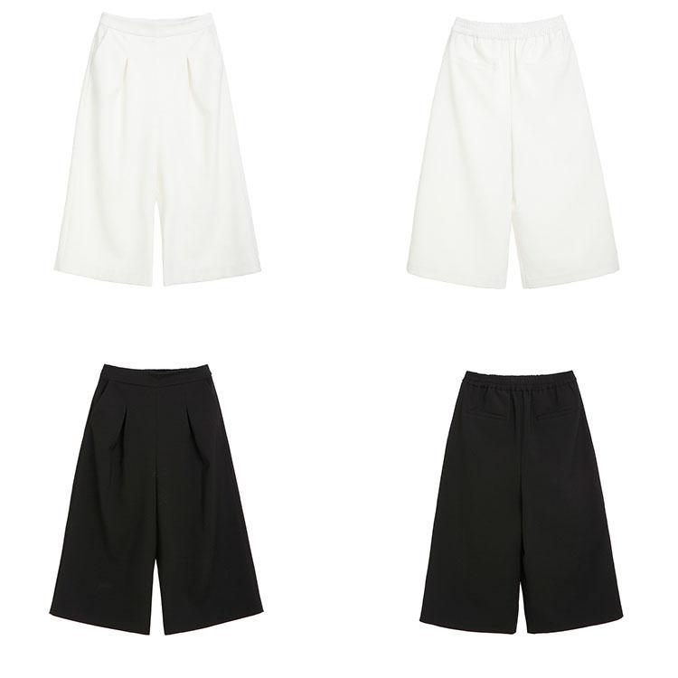 Women Fashion Casual Capri Pants