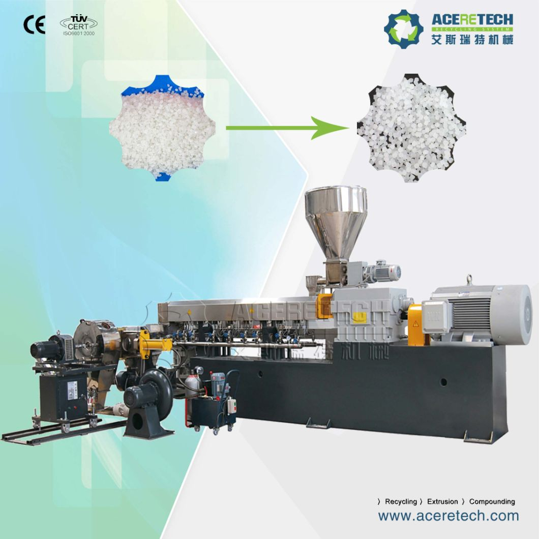 Parallel Twin Screw Extruder for Making Silane Cross Linking Cable