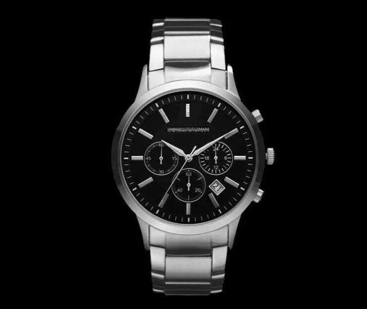 Classical Gold Watch Rose Gold Bracelet Business Nouveau Riche Luxury Fashion Three Eye Chronograph Quartz Men's Watch
