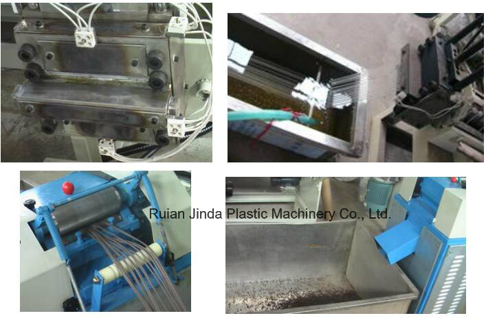 Gsl High Output Double Screw Wasted Film Recycle Machine