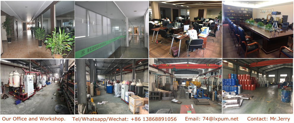 China Quality Factory for PU Foam Making Machine /Polyurethane Foam Making Machine /Polyurethane PU Foam Injection Machine