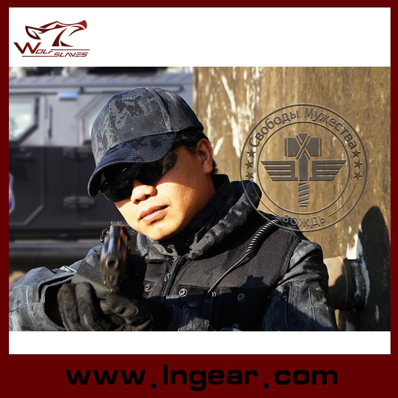 New Arrival Cotton Tactical Baseball Cap with Adjustable Military Cap for Men Sun Hat Outdoors Cap Tactical Gear Bone