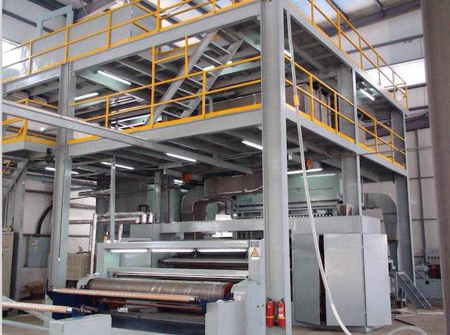 Spunbond Non Woven Fabric Making Machine