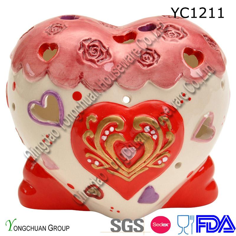 Ceramic Candle Holder for Wedding