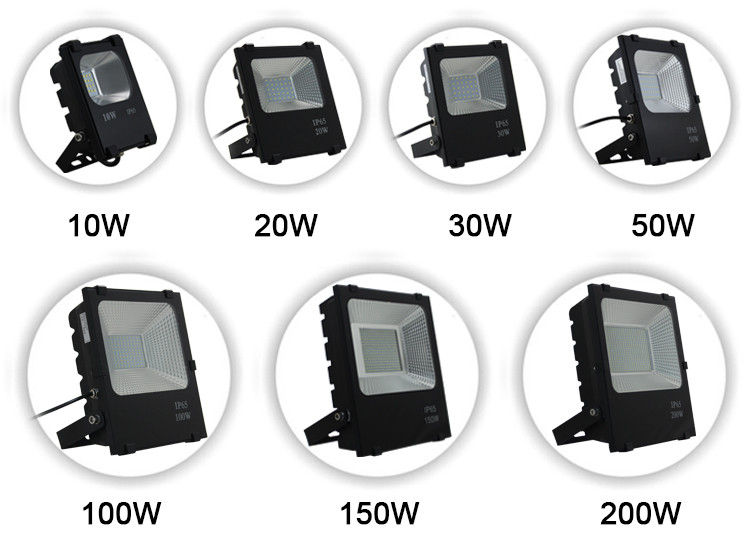Factory Price IP65 Outdoor 100W LED Flood Light Ce RoHS Approved