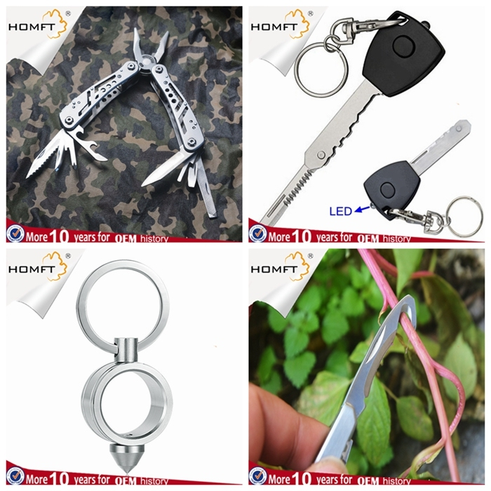 Outdoor Camping Equipment 360 Degree Rotation Survival Line Saw Lifesaving Chain Saw Sos Tool