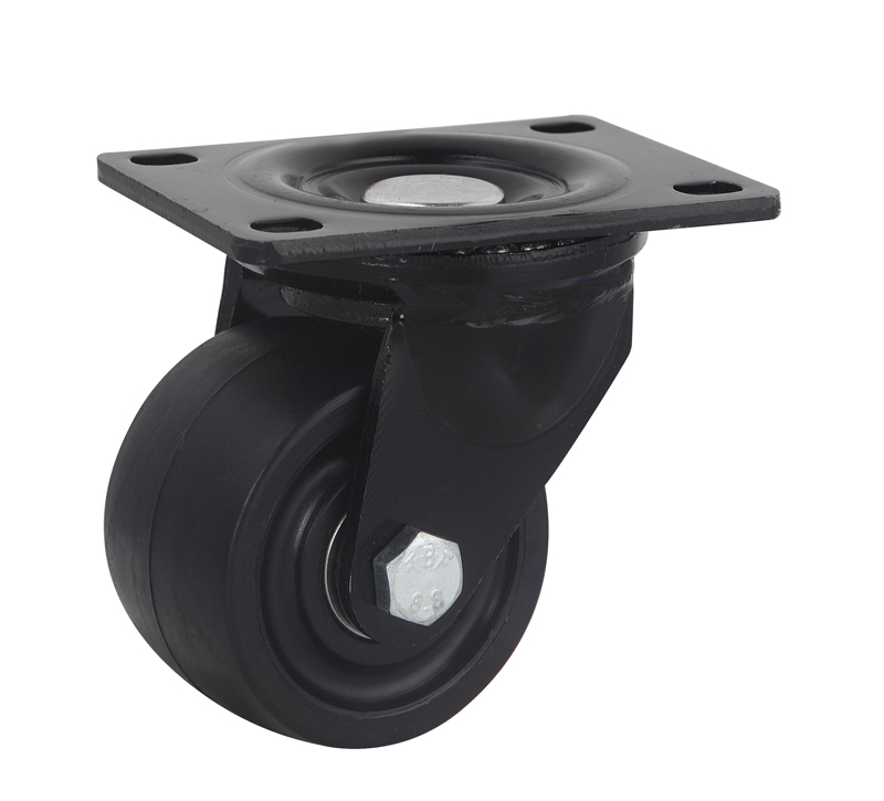 3 Inch Nylon Low Profile Swivel Caster, 500kgs Loading