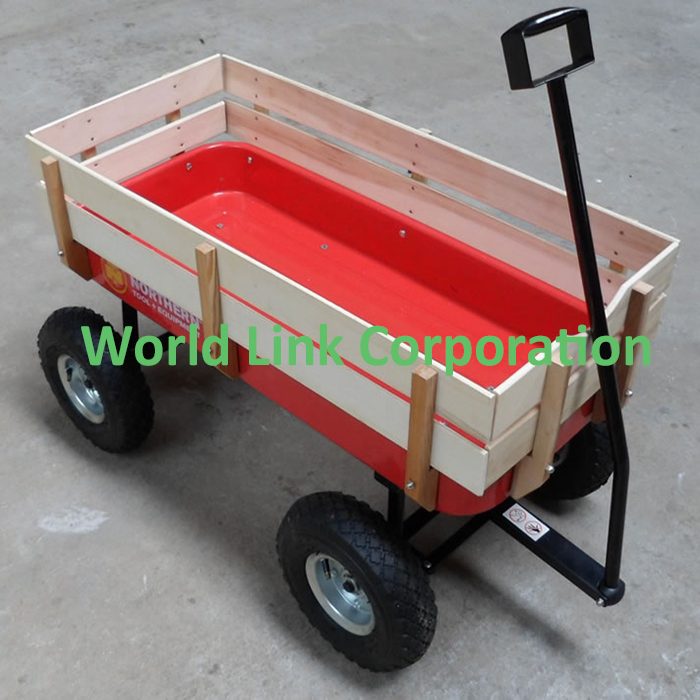 150kgs Wooden Wagon Beach Carts for Kids