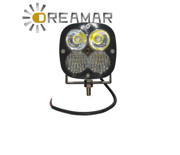 Combo, Spot, Flood Beam CREE off Road 8inch 40W Square LED Work Light with Combo Lens