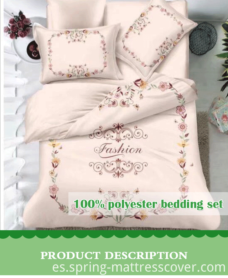 Printing 4 Pcs Bedding Set