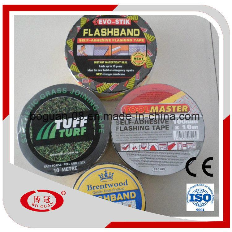 Aluminum Foil Flashing Strip Self Adhesive Bitumen Waterproof Tape