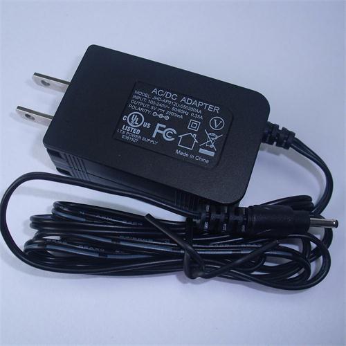 12V 1A External Power Adapter
