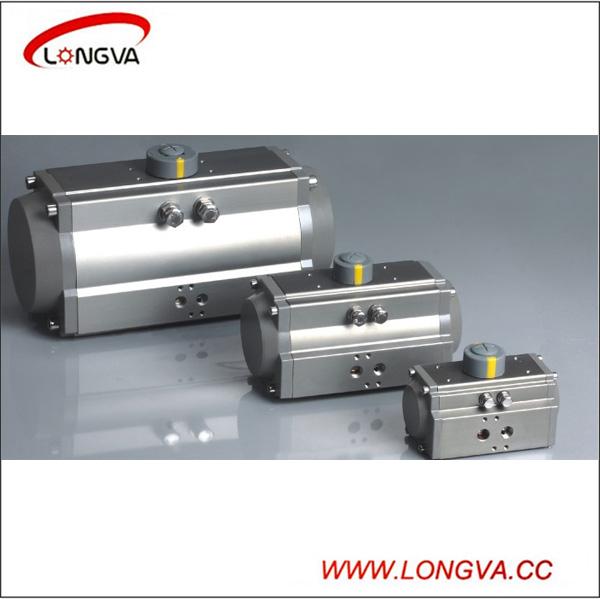 Aluminium alloy rotary type valve pneumatic actuator china