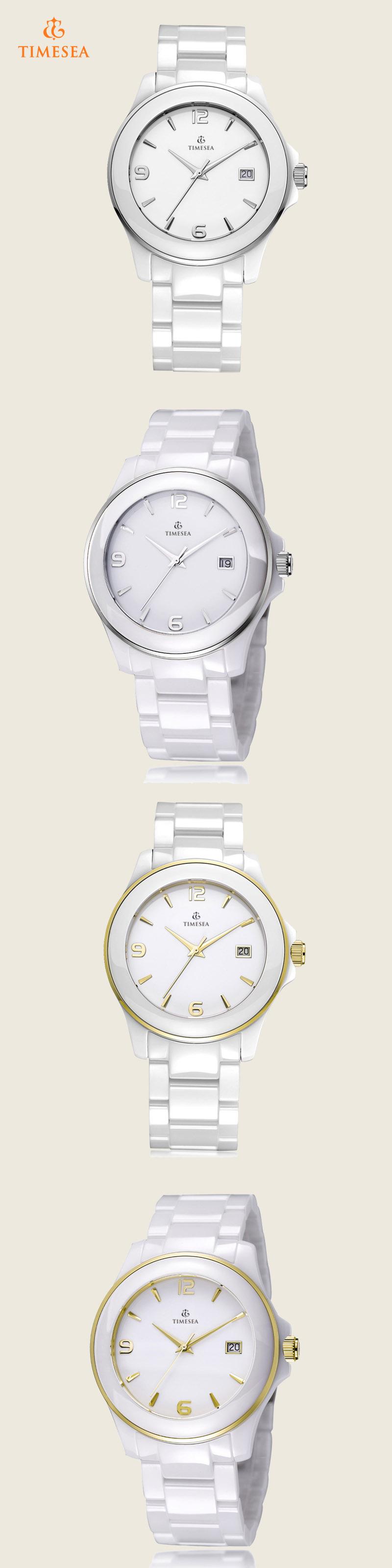 Fashion Quartz Ceramic Quartz Wrist Watch 72319