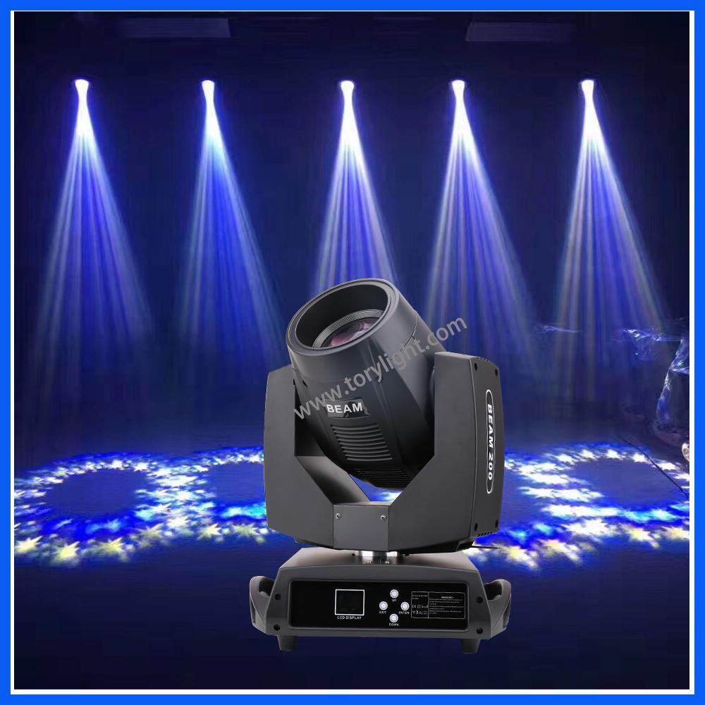 Club Light Sharpy 200W Moving Head Beam DJ Equipment