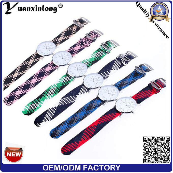 Yxl-212 Fashion Quartz Nylon Strap Watch, Nato Woven Strap Ladies Sport Elegant Lady Watch Wristwatch