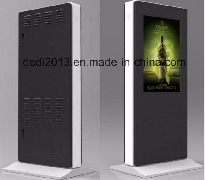 55inch Weatherproof Outdoor Multimedia Kiosk LCD Display Digital Signage