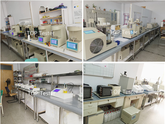 Lab Apparatus Fire Point and Flash Point Testing Equipment