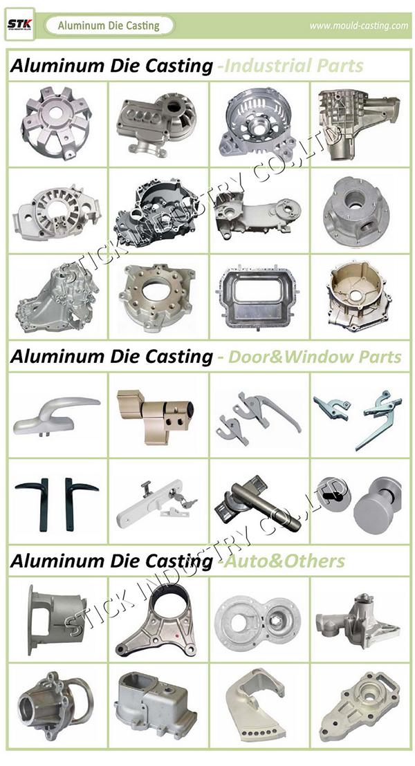 Aluminum Machining Parts Die Casting for Auto Parts (STK-ADO0015)