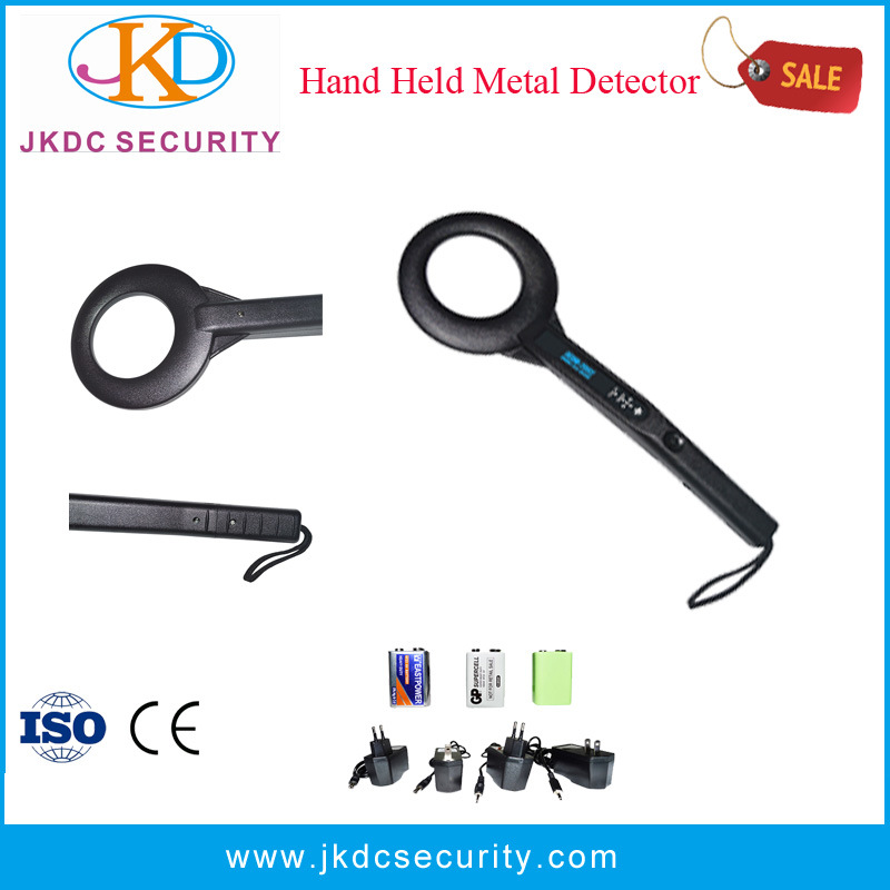 Access Security Control Hand-Held Metal Detector for Checkpoints