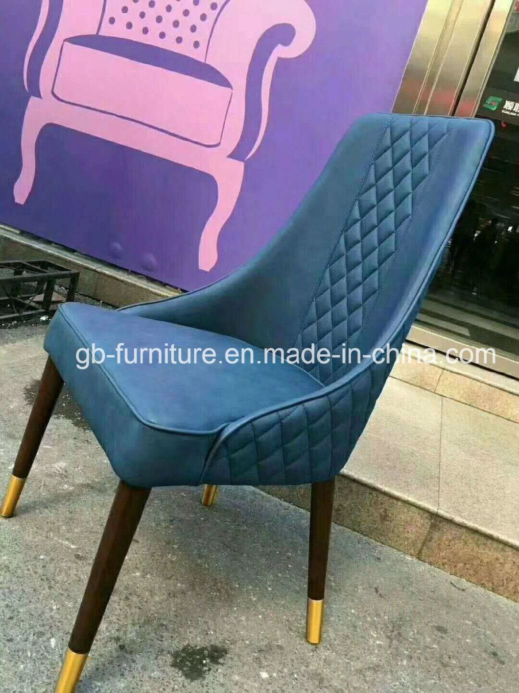 Top Quality Wood Legs Restaurant Chair