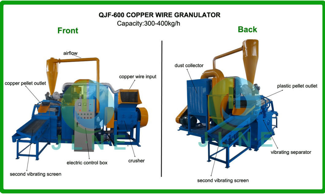 Scrap Varnished Copper Wire Recycling Machine
