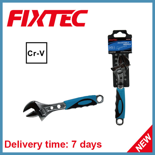 Fixtec Hand Tools CRV Material Adjustable Wrench