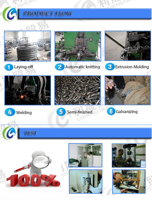 Galvanized Steel Short Link Chain